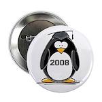 2008 Graduation Penguin Button