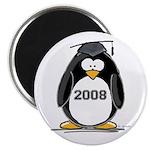2008 Graduation Penguin Magnet