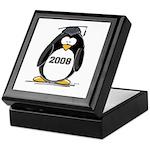 2008 Graduation Penguin Keepsake Box