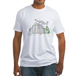 Winter Greenhouse Fitted T-Shirt