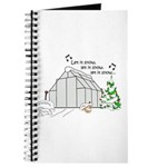 Winter Greenhouse Journal