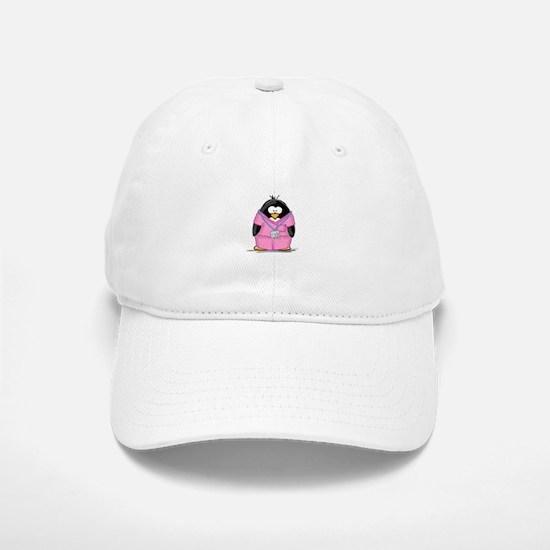 Nurse Penguin Baseball Baseball Cap
