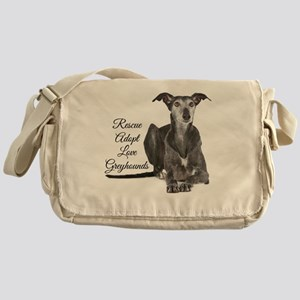 Love Greyhounds Messenger Bag