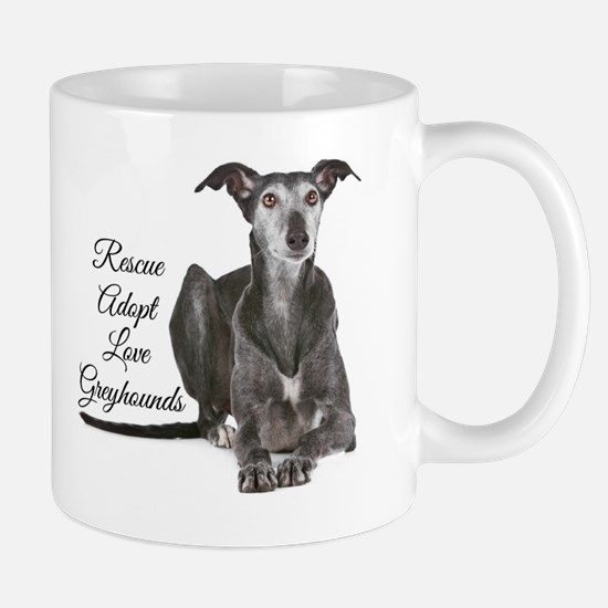 Love Greyhounds Mug