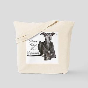 Love Greyhounds Tote Bag