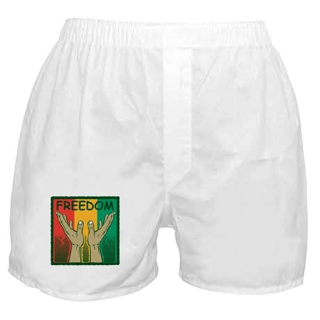 Freedom and Peace Boxer Shorts