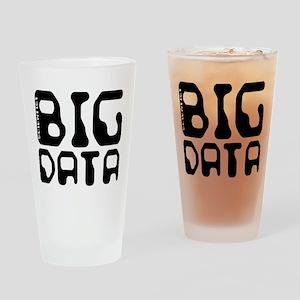 Big Data Scientist Drinking Glass