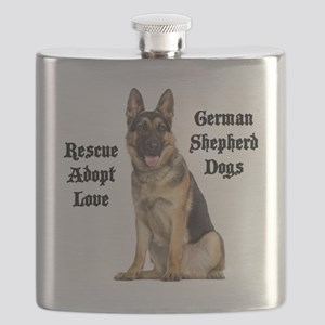 Love GSDs Flask