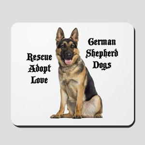 Love GSDs Mousepad