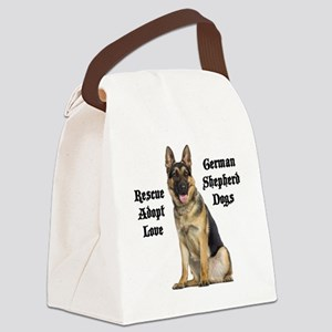 Love GSDs Canvas Lunch Bag