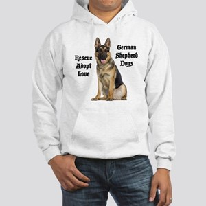 Love GSDs Hooded Sweatshirt