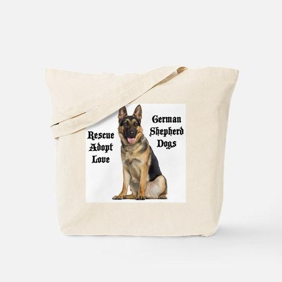 Love GSDs Tote Bag