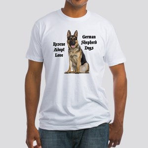 Love GSDs Fitted T-Shirt
