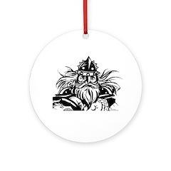 Viking Round Ornament