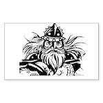 Viking Sticker (Rectangle)