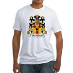 Chanteloup Family Crest Fitted T-Shirt