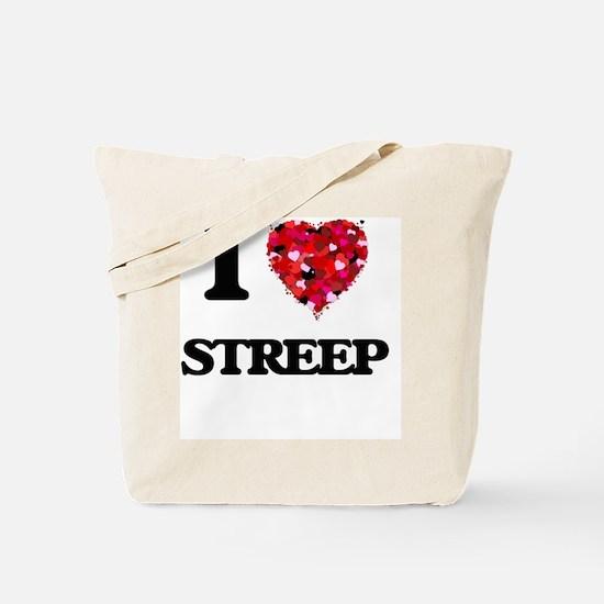 I Love Streep Tote Bag