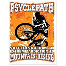 PSYCLEPATH - SUFFERING FROM AN EXTREME ADDICTION T Poster