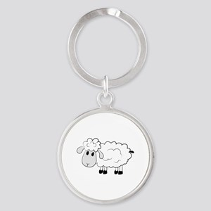 Sheep Keychains