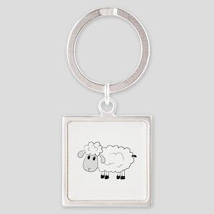 Sheep Keychains