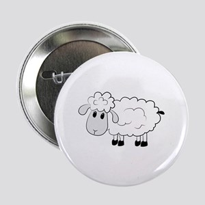 """Sheep 2.25"""" Button (10 pack)"""