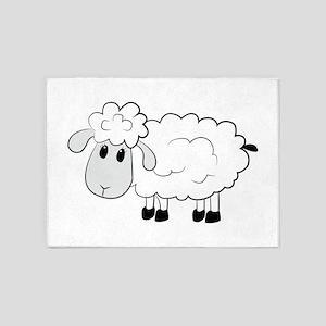Sheep 5'x7'Area Rug