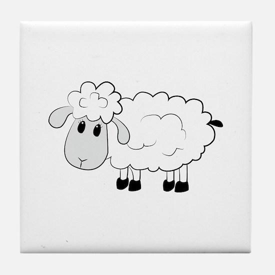 Sheep Tile Coaster