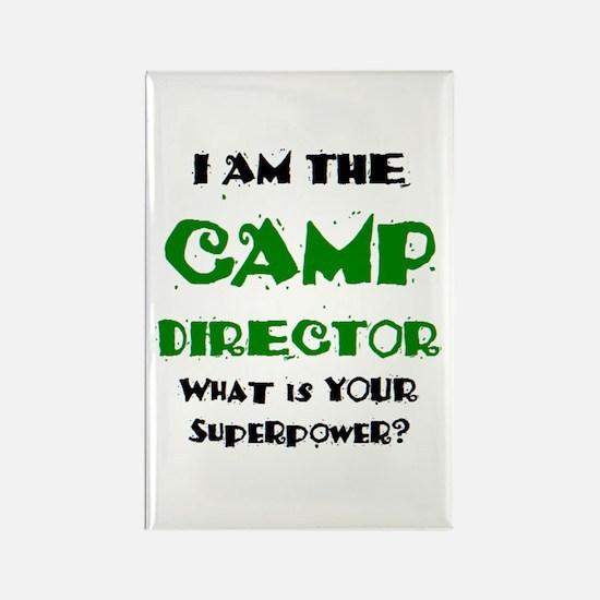 camp director Rectangle Magnet