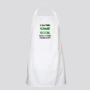camp cook Apron