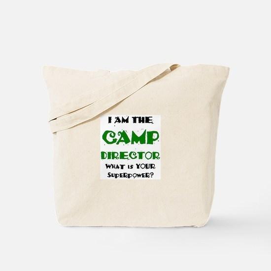 camp director Tote Bag