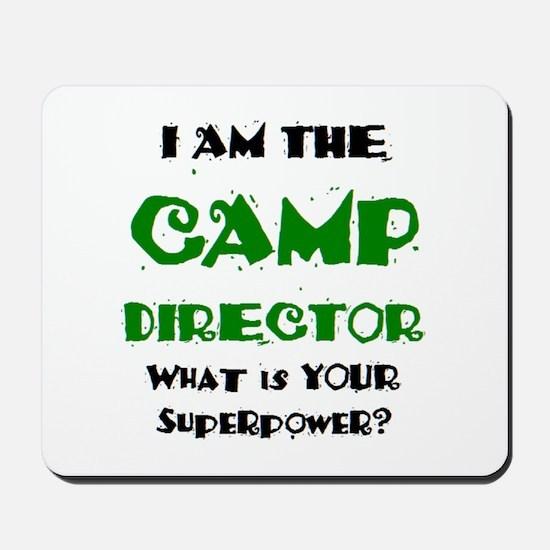 camp director Mousepad