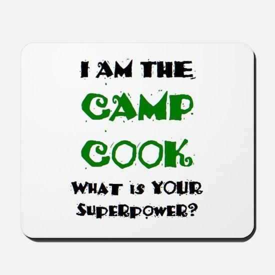 camp cook Mousepad