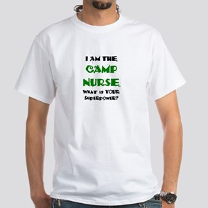 camp nurse White T-Shirt