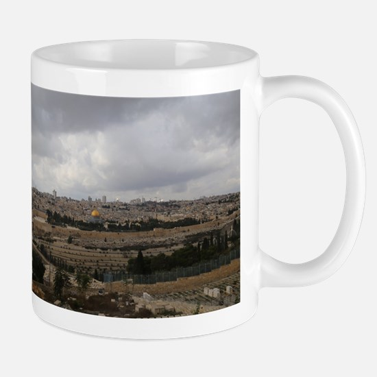 Jerusalem City View Mugs