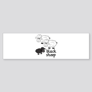 Black Sheep Bumper Sticker