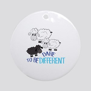 Be Different Ornament (Round)