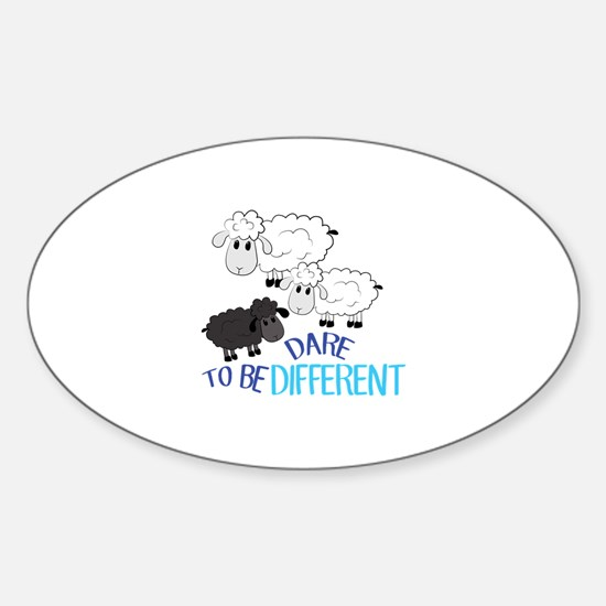Be Different Decal