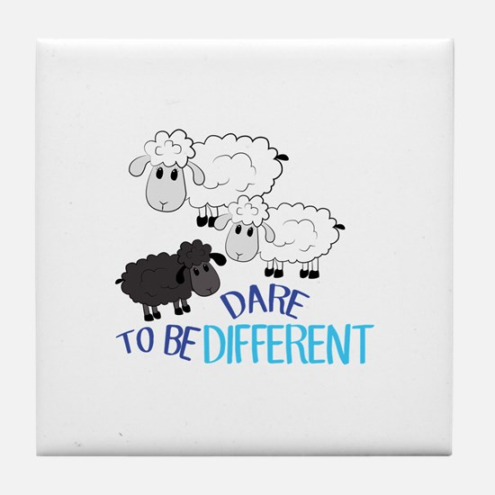 Be Different Tile Coaster