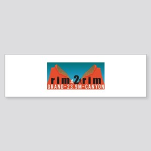 Rim 2 Rim Bumper Sticker