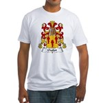 Chabot Family Crest Fitted T-Shirt