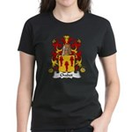 Chabot Family Crest Women's Dark T-Shirt