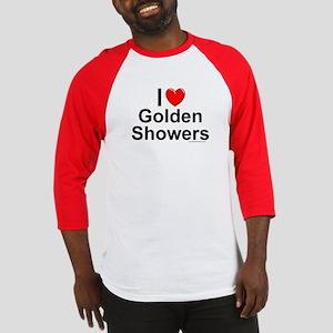 Golden Showers Baseball Jersey
