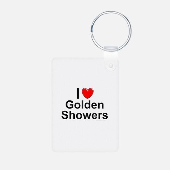 Golden Showers Keychains
