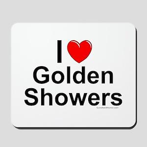 Golden Showers Mousepad