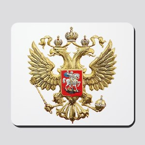 Russian Federation Coat of Arms Mousepad