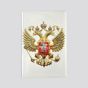 Russian Federation Coat of Arms Rectangle Magnet
