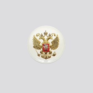 Russian Federation Coat of Arms Mini Button