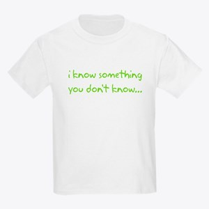 i know something big brother Kids Light T-Shirt