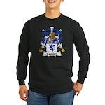 Cavalier Family Crest Long Sleeve Dark T-Shirt