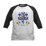Cavalier Family Crest  Kids Baseball Jersey